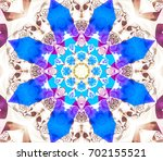 abstract background colored... | Shutterstock . vector #702155521
