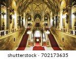 budapest  hungary   june 19 ... | Shutterstock . vector #702173635