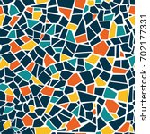 Bright Abstract Mosaic Seamles...