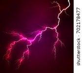 Vector Bright Lightning On A...
