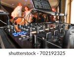 dj mixer | Shutterstock . vector #702192325