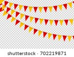 vector realistic isolated party ... | Shutterstock .eps vector #702219871