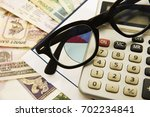 accounting. business background ... | Shutterstock . vector #702234841