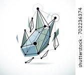 3d engineering backdrop ... | Shutterstock . vector #702236374
