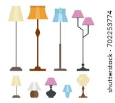 set of different floor and... | Shutterstock .eps vector #702253774