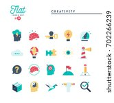creativity  imagination ... | Shutterstock .eps vector #702266239
