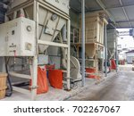 dust control system in... | Shutterstock . vector #702267067