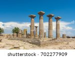 temple of athena   athena... | Shutterstock . vector #702277909