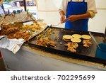 mexico city street food vendor   Shutterstock . vector #702295699
