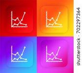 graph four color gradient app...