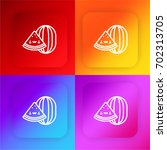 watermelon four color gradient...