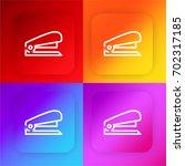 stapler four color gradient app ...