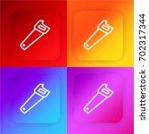 saw four color gradient app...