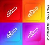 chainsaw four color gradient...
