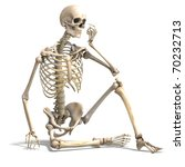 anatomical correct male... | Shutterstock . vector #70232713