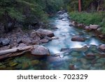 river in king's canyon national ... | Shutterstock . vector #702329