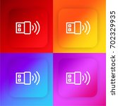 wireless four color gradient...