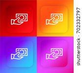 cash four color gradient app...