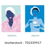 Capricorn And Aquarius Woman...