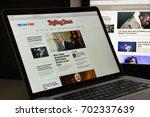 milan  italy   august 10  2017  ... | Shutterstock . vector #702337639