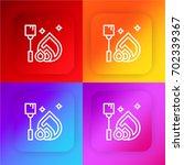 bonfire four color gradient app ...