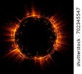 abstract background. luminous... | Shutterstock . vector #702345547