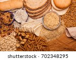 Display Of Whole Grains And...