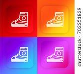 sneaker four color gradient app ...