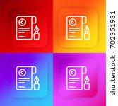 contract four color gradient...