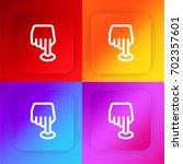 position four color gradient...
