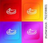 sea scooter four color gradient ...