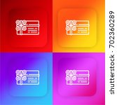 gift card four color gradient...