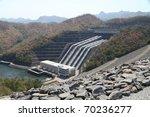 Sinakarin Dam In Kanchanaburi...