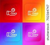 investment four color gradient...