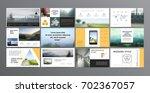 original presentation templates ... | Shutterstock .eps vector #702367057