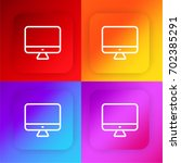 imac four color gradient app...