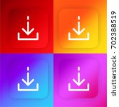 download four color gradient...
