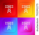 electric tower four color...