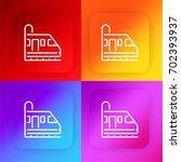 metro four color gradient app...
