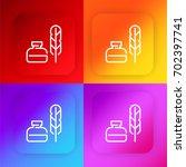 ink four color gradient app...