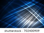 vector polar lights concept ... | Shutterstock .eps vector #702400909