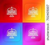 cake four color gradient app...