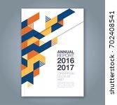 abstract minimal geometric... | Shutterstock .eps vector #702408541