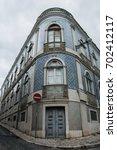 streets of lisbon | Shutterstock . vector #702412117