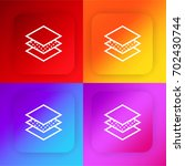 layers four color gradient app...