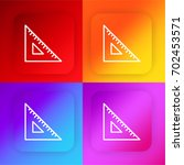 ruler four color gradient app...