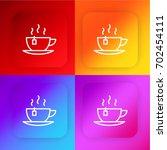 tea four color gradient app...