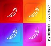 chili four color gradient app...