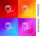 sushi four color gradient app...