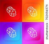 cookies four color gradient app ...